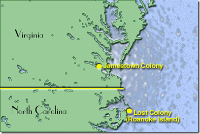 Map_showing_location_of_Jamestown_and_Roanoke_Island_Colonies