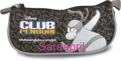 Club Penguin Black Soft Case 9x22x7 cm :)