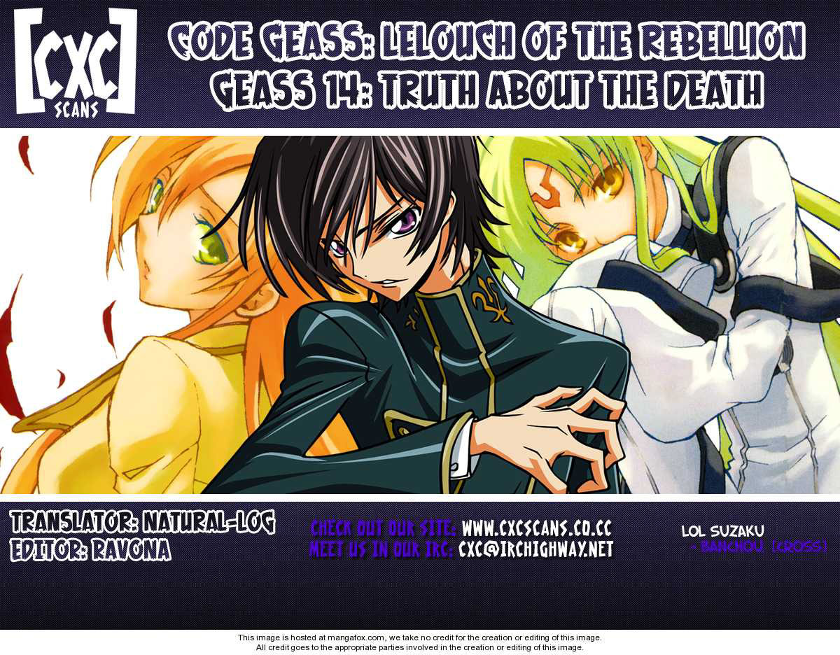 Code Geass: Lelouch Of The Rebellion Chap 014