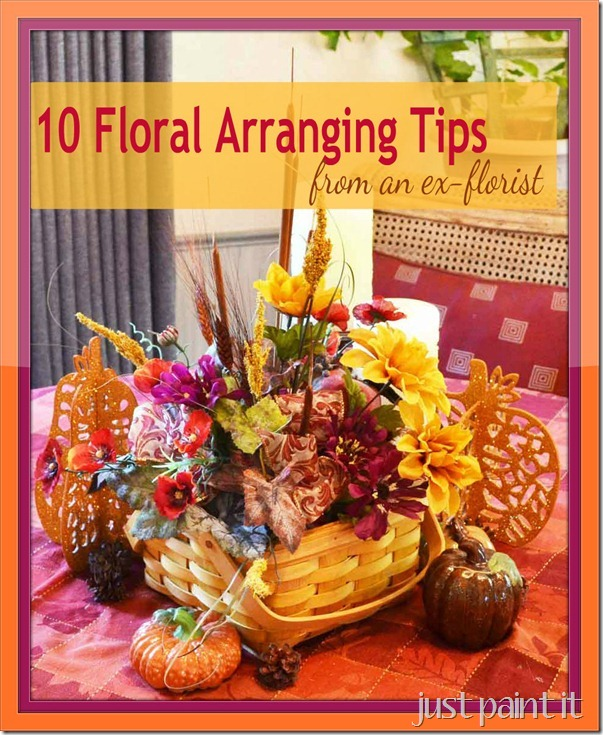 Flower Arrangements Basics: 10 Flower Arranging Tips From An Ex-florist