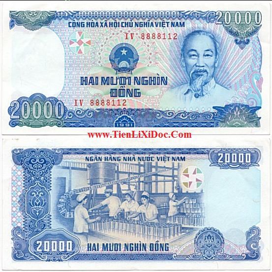 20.000 đồng 1991