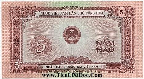 5 Hào (Việt nam dân chủ 1958)