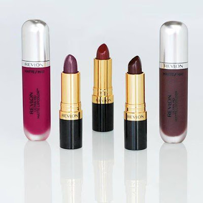 We are so into dark lips right now Try layering Revlon Matte