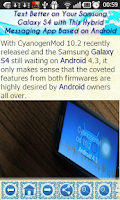 Screenshot of Galaxy S4 Dirty Tricks