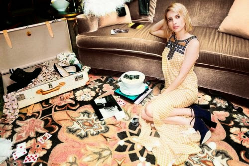 Emma Roberts wears Vanish