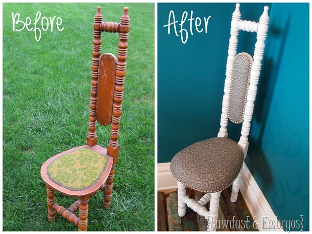 Before and After Hall Chair