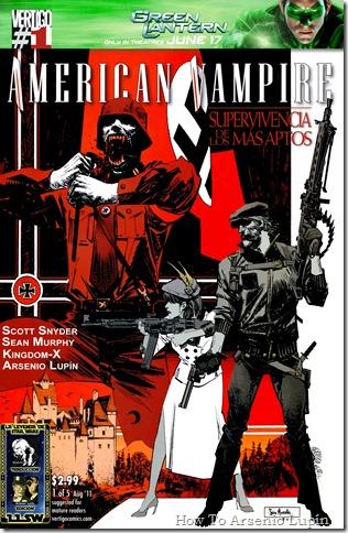 2012-02-25 - American Vampire - Supervivencia de los más aptos