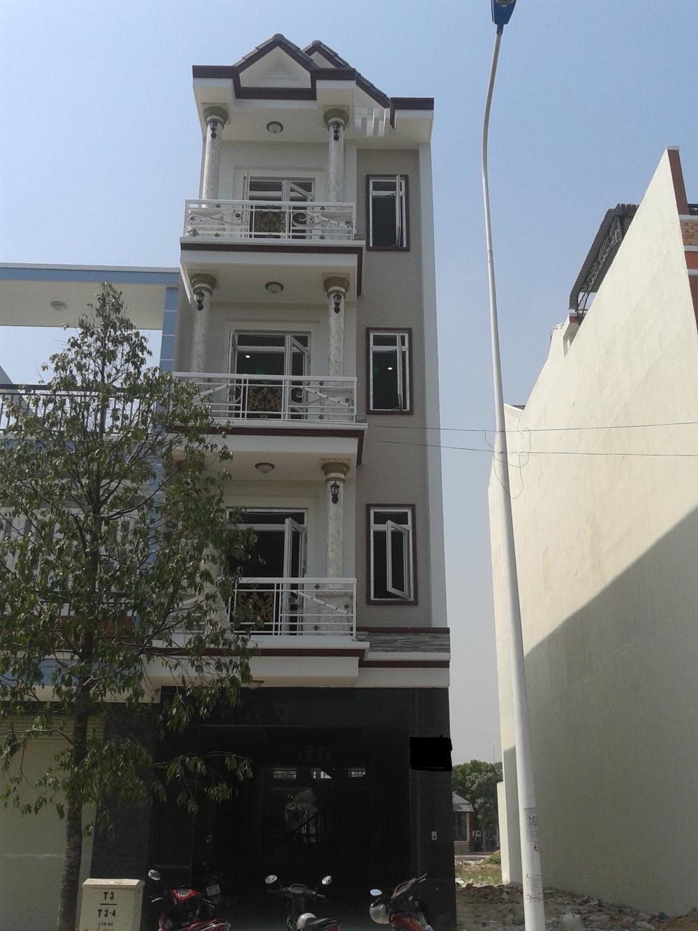 Nhà Mặt Tiền Đường Trần Thủ Độ 1 trệt 3 lầu quận Tân Phú 01