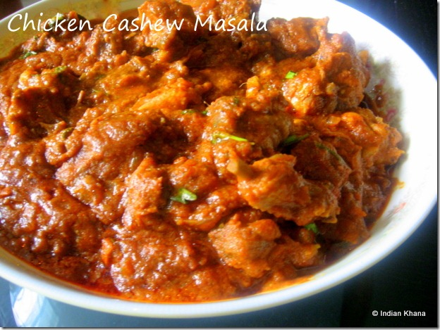 Chicken Curry with Cashew