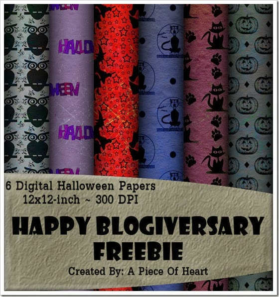 Halloween Grunge Paper Preview