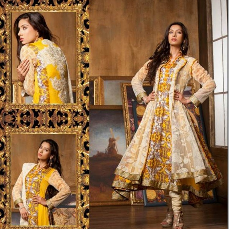 Fahad Hussayn Latest Lawn Collection 2013 by Ittehad Textiles