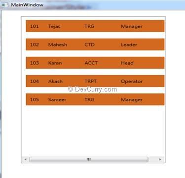 Wpf Listbox Vs Listview
