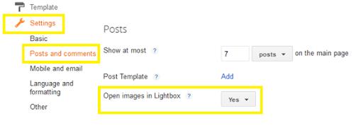 blogger lightbox