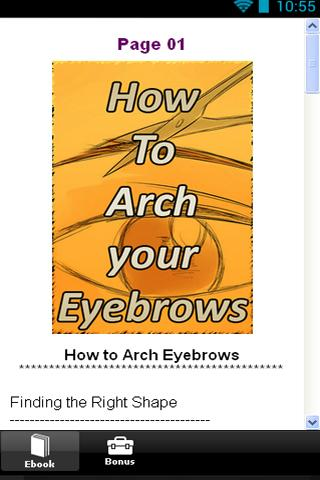 免費下載生活APP|How To Arch Your Eyebrows app開箱文|APP開箱王