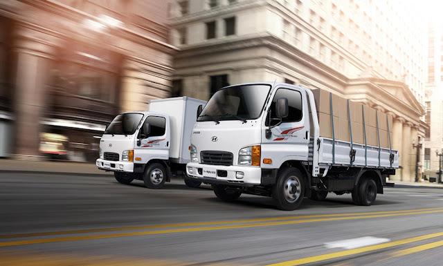 Xe tải Hyundai N250 sở hữu ngoại thất hiện đại