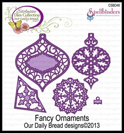 Fancy Ornaments, Our Daily Bread designs