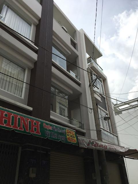 Bán nhà khu chợ vải Phú Thọ Hòa Quận Tân Phú 001