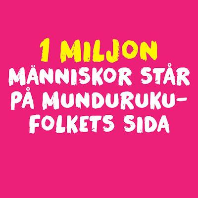 Tack 1 miljon människor har skrivit under vårt upprop för att rädda