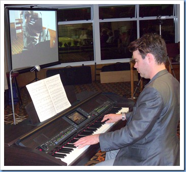 Our special guest artist was Andy Keys from the MusicWorks Group. Andy gave us a wonderful concert using both basic piano and orchestration for the classical pieces he chose. Andy certainly brought the Club's top-of-the-range Clavinova CVP-509 to life.