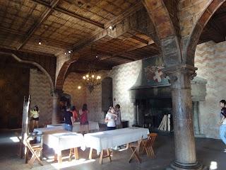 Salle à manger du châtelain à Chillon