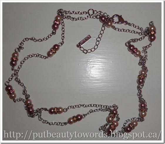 Writing Beauty: Jewelmint Opera Pearl Necklace + Benefit