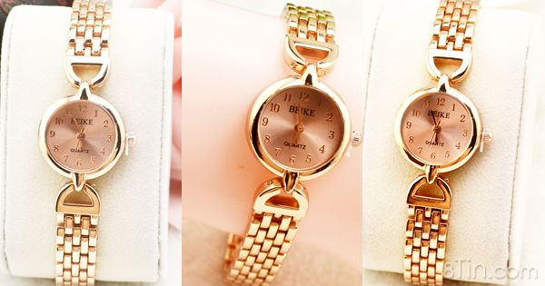 Đồng hồ nữ Quaz 155k ✔ Chất liệu: kim loại ✔ Màu