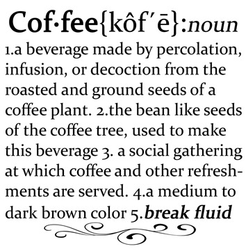 Coffee Definition Printable Keen Inspirations12