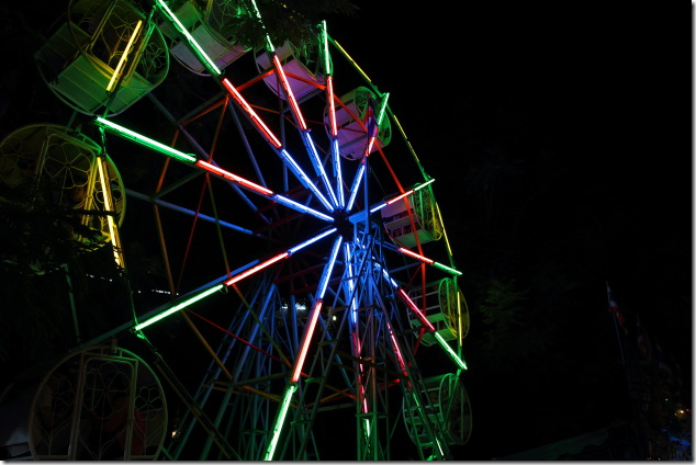 Giant Wheel for the kids to enjoy on Loi Krathong Festival Day
