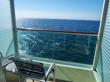 Croziera pe Mediterana: Balcon vas croaziera