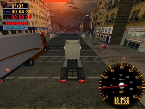 Juegos de Camiones Big Rigs Over the Road Racing 3