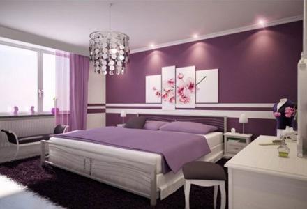habitaciones-de-diseño-decoracion-color-violeta-habitaciones