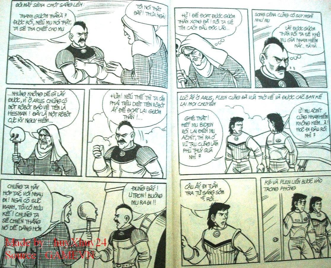 Dũng Sĩ Hesman chap 26 trang 7