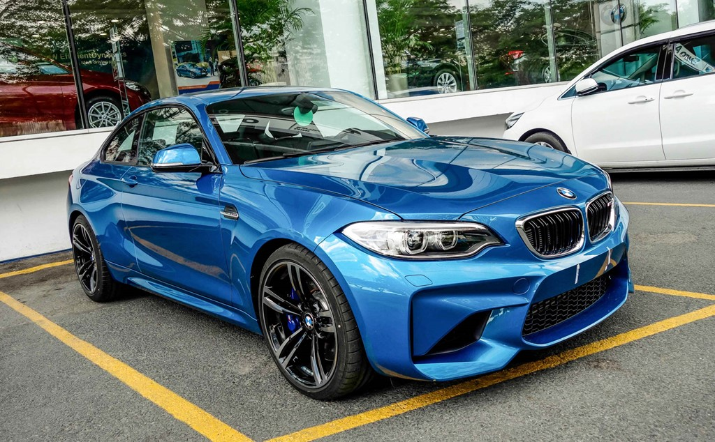 Xe BMW M2 Coupe thế hệ mới 01