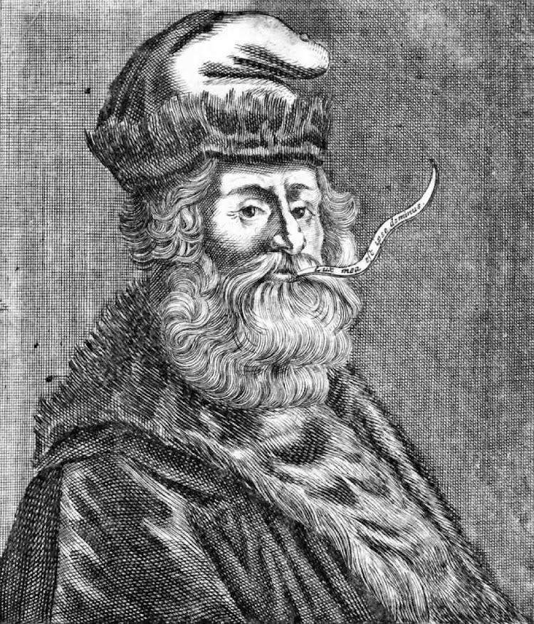 Ramón Llull. Grabado extraído de WIKIPEDIA.jpg