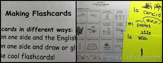 Spanish for You!  Flashcards