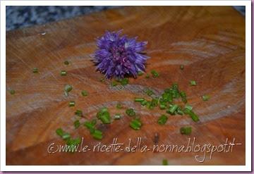 Risotto vegan fiorito con erba cipollina e peperoni (4)