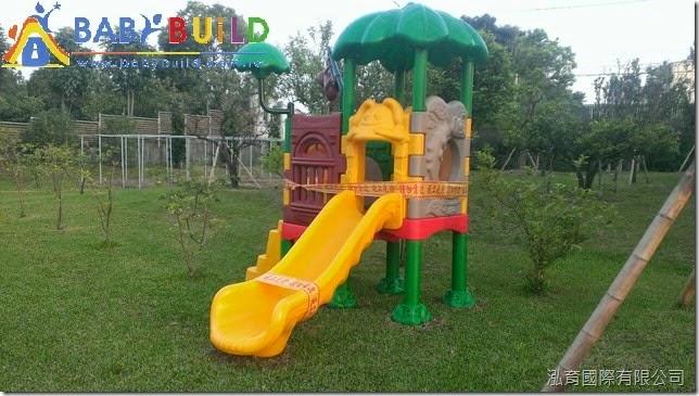 BabyBuild 兒童組合遊具完工照