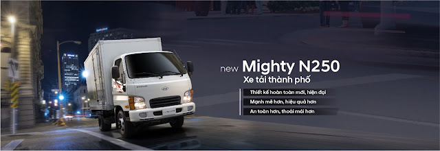 Xe tải Hyundai N250 2,5 tấn thế hệ mới