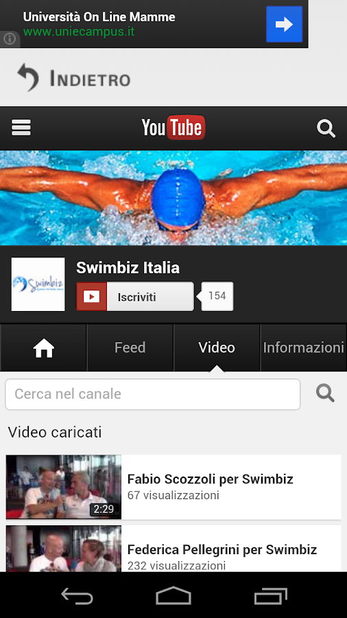 Swimbiz - screenshot