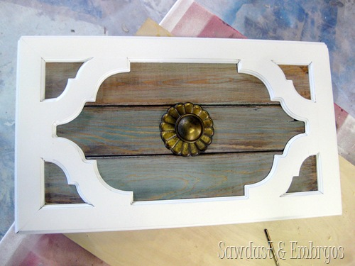 Buffet Doors with Original Hardware! {Sawdust and Embryos}