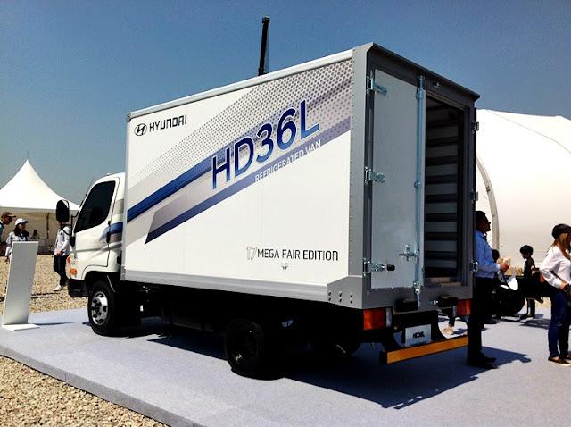 Xe tải 1,9 tấn Hyundai HD36L thùng đông lạnh