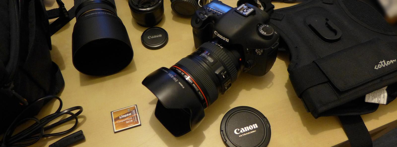 Dịch vụ cho thuê máy ảnh Canon