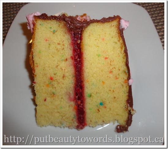 Writing Beauty Easy Raspberry Cake Filling
