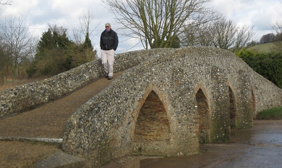 PACKHORSE BRIDGE, MOULTON