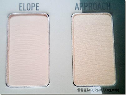 Sigma Beauty Bare Eye Palette Review Swatch Elope Approach Swatch