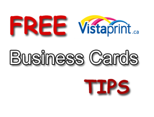 vistaprint business cards