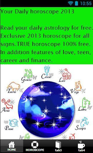 Your Daily Horoscope 2013