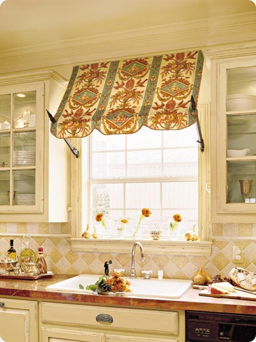 kitchen-shade for over window