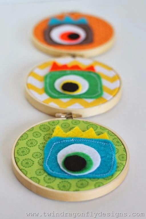 Monster Embroidery Hoop (25)