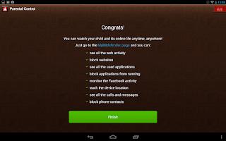 Screenshot of Bitdefender Parental Control